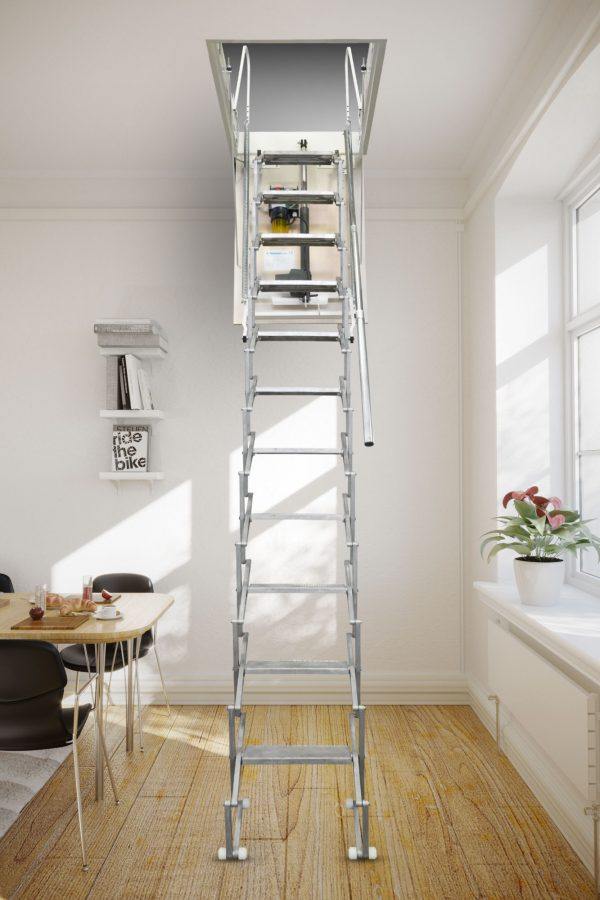 Картинка Чердачная лестница с электроприводом - FANTOZZISCALE MOTOR BASE2