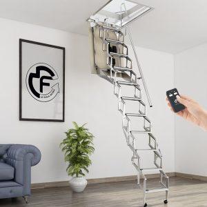 Картинка Чердачная лестница с электроприводом FGM