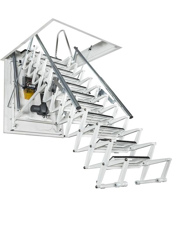 Картинка Чердачная лестница с электроприводом - FANTOZZISCALE MOTOR3