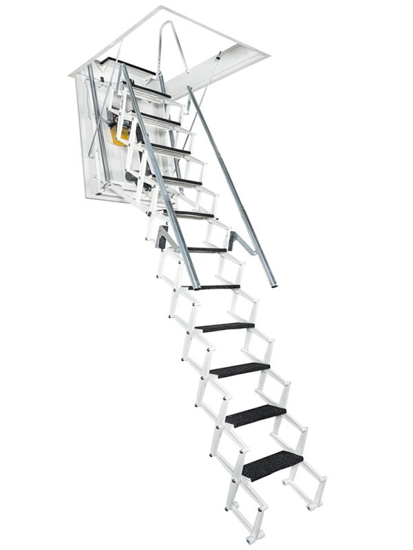 Картинка Чердачная лестница с электроприводом - FANTOZZISCALE MOTOR1