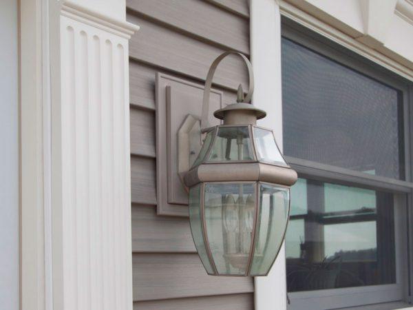 Картинка монтажный блок Mid-America Фонарь с лампой